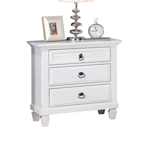 Merivale Nightstand - White