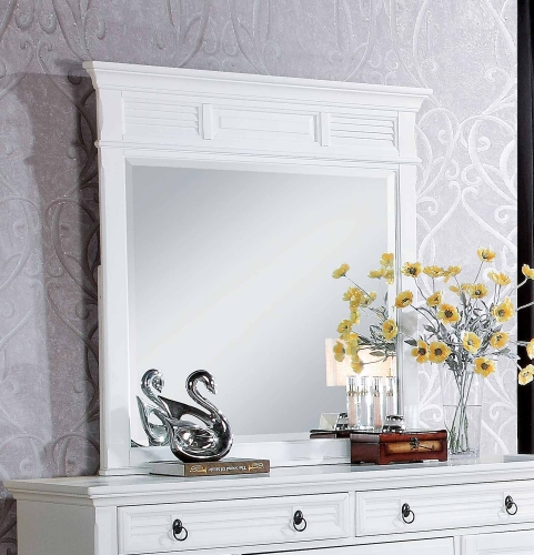 Merivale Mirror - White