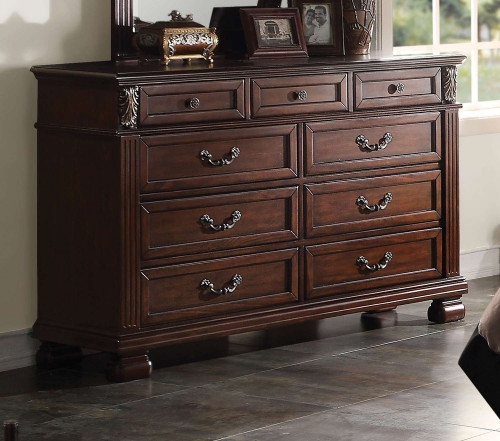 Manfred Dresser - Dark Walnut