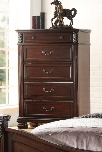 Manfred Chest - Dark Walnut