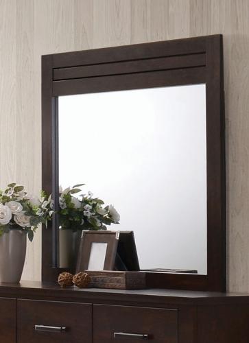 Panang Mirror - Mahogany