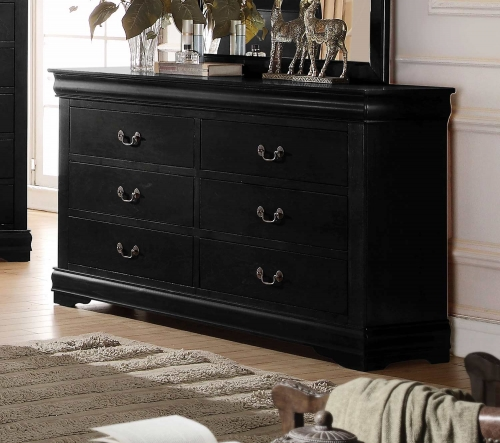 Louis Philippe Dresser - Black