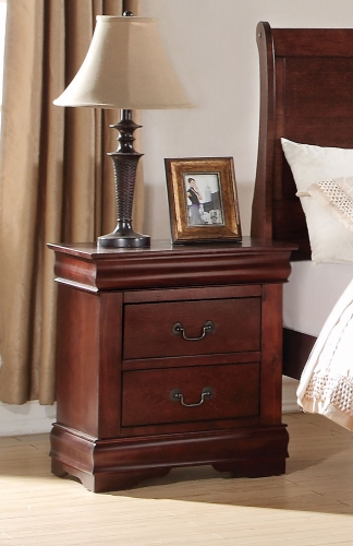 Louis Philippe Nightstand - Cherry