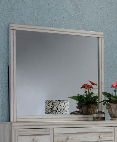 Shayla Mirror - Antique White