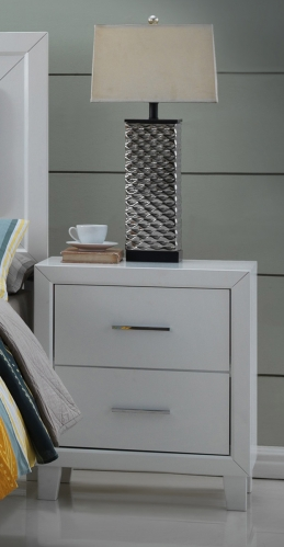 Switzer Nightstand - White