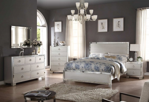 Acme Voeville II Bedroom Set - Platinum