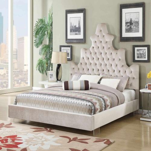Honesty Bed - Sand Plush