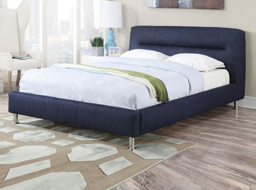 Adney Bed - Blue Denim