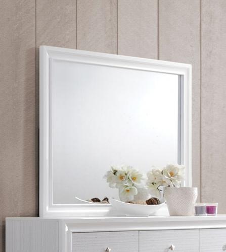 Naima Mirror - White
