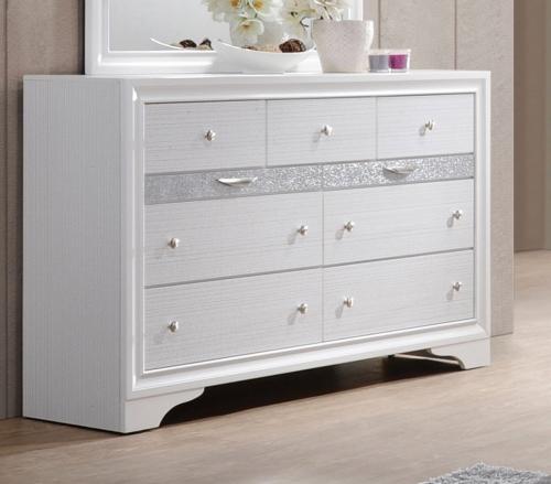 Naima Dresser - White
