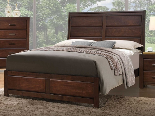 Oberreit Bed - Walnut