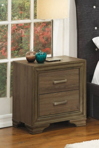 Cyrille Nightstand - Walnut