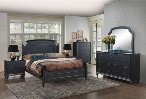 Edwige Bedroom Set - Black