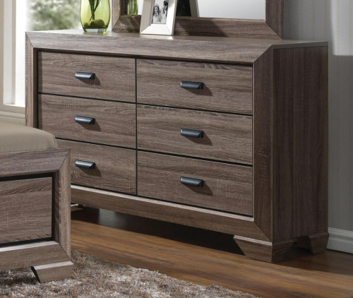 Lyndon Dresser - Weathered Gray Grain