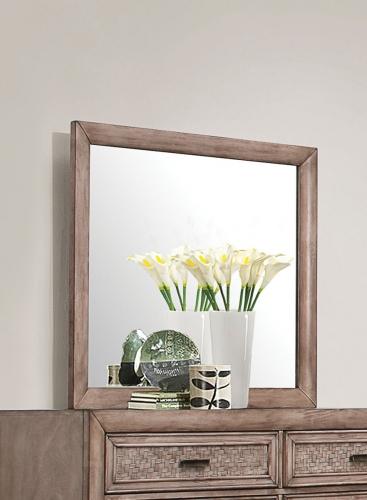 Ireton Mirror - Caramel