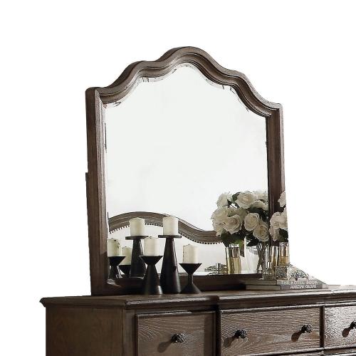 Baudouin Mirror - Weathered Oak