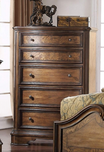 Valletta Chest - Latte Oak