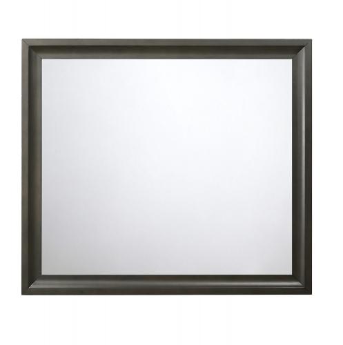 Soteris Mirror - Antique Gray