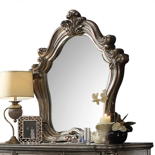 Acme Versailles Mirror - Antique Platinum