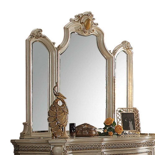 Picardy Mirror - Antique Pearl