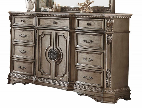 Northville Dresser - Antique Champagne