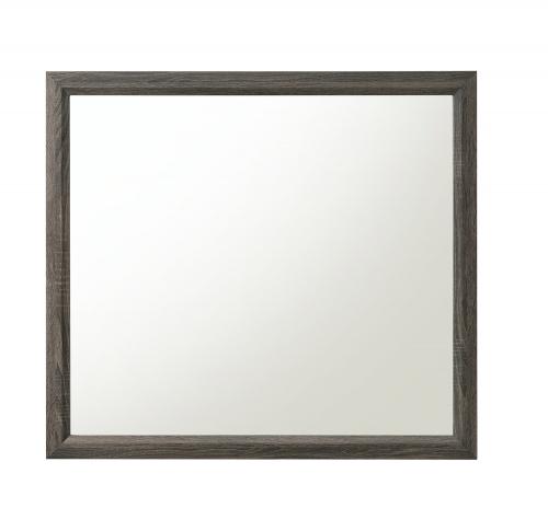 Valdemar Mirror - Weathered Gray