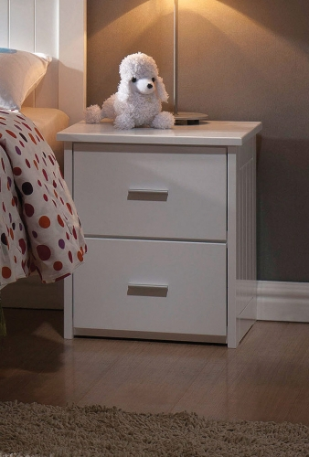 Bungalow Nightstand - White