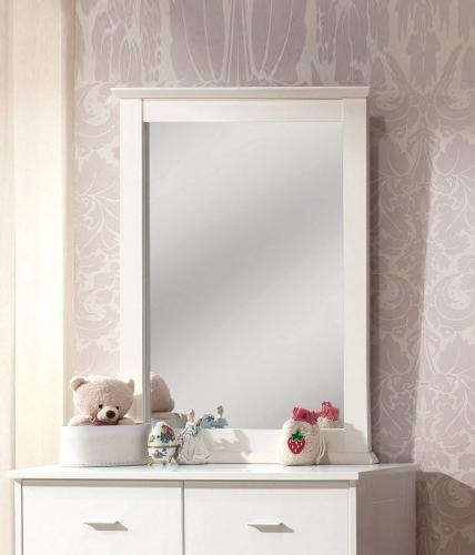 Bungalow Mirror - White