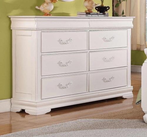 Classique Dresser - White