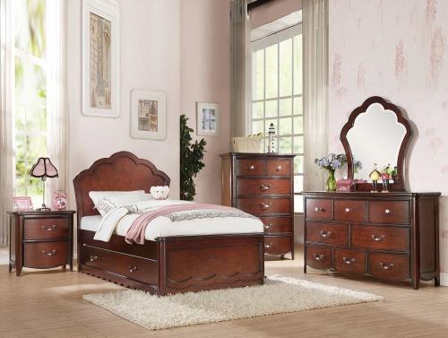 Acme Cecilie Bedroom Set - Cherry