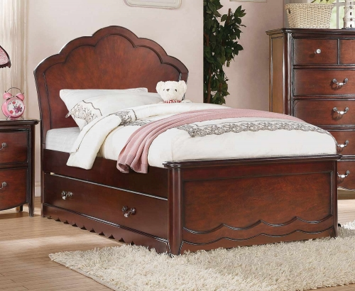 Cecilie Bed - Cherry