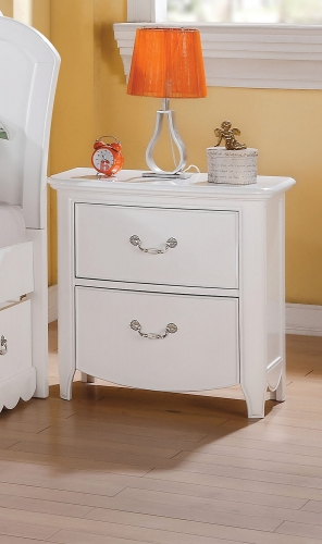 Acme Cecilie Nightstand - White