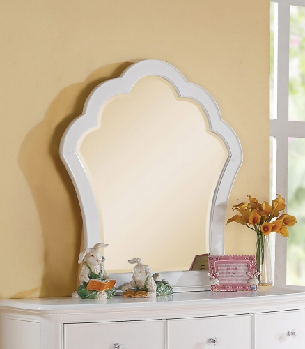 Acme Cecilie Mirror - White