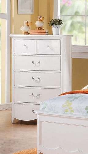 Cecilie Chest - White
