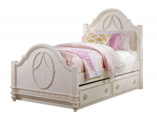 Dorothy Bed - Ivory