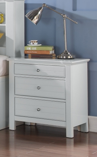 Mallowsea Nightstand - White