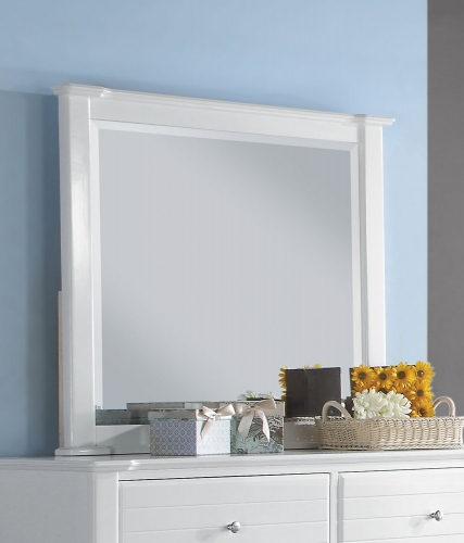 Mallowsea Mirror - White