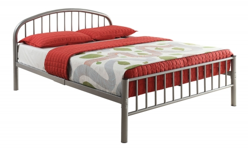 Cailyn Bed - Silver