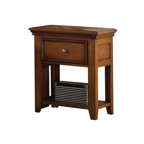 Lacey Nightstand - Cherry Oak