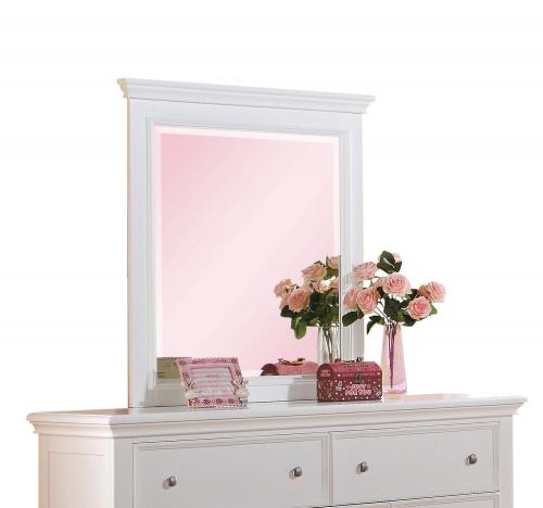 Acme Lacey Mirror - White