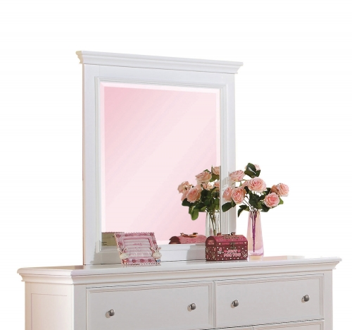 Lacey Mirror - White