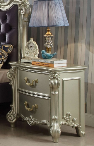 Acme Vendome II Nightstand - Champagne