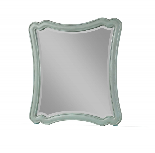 Morre Mirror - Antique Teal