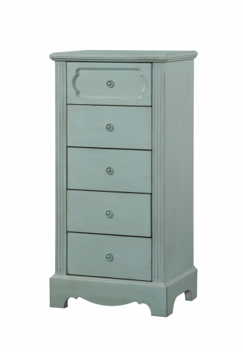 Acme Morre Chest - Antique Teal