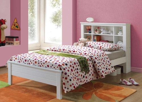 Yara Twin Bed - White
