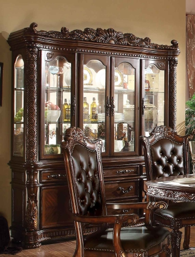 Vendome Hutch and Buffet - Cherry