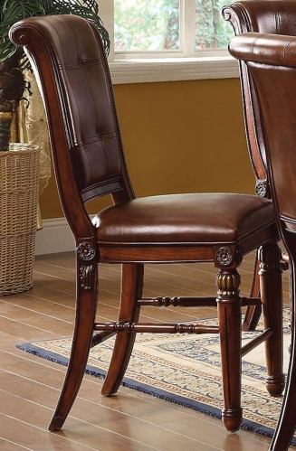 Winfred Counter Height Chair - Cherry