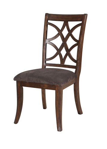 Keenan Side Chair - Brown MFB/Dark Walnut