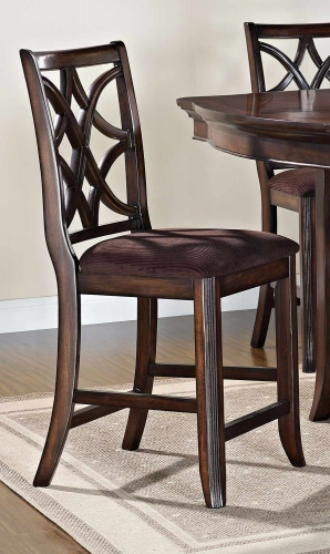 Keenan Counter Height Chair - Brown MFB/Walnut