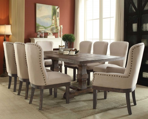 Landon Dining Set - Salvage Brown